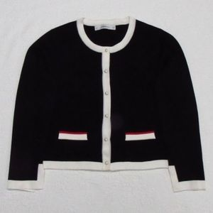 Zara Knit Cardigan with Pearl Buttons  L